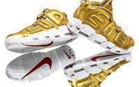 Supreme x Nike Air More Uptempo เปิดเผยสู่สายตาชาวโลกเป็นครั้งแรก