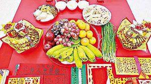 วันสารทจีน ประวัติวันสารทจีน ชุดของไหว้สารทจีน
