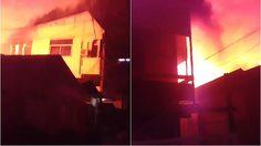 ไฟไหม้บ้านเรือนประชาชน ภายในซ.อดิเรก ชลบุรี เร่งระงับเหตุ
