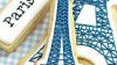 คุกกี้ปารีสที่รัก ศิลปะบน คุกกี้ สุดน่ารัก น่าทาน