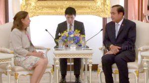 นายกฯ พบทูตอาร์เจนตินา ย้ำไทยมุ่งปฏิรูป คาดลต.ปี60