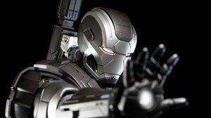 Iron Man 3: MMS Diecast War Machine Mark II Limited Edition จาก Hot Toys