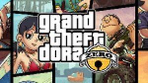 เมื่อผองเพื่อนการ์ตูนโดเรมอน แปลงร่างเป็นตัวละครเกมส์ GTA 5