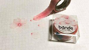 น่ารักเว่อร์! สก็อตเทปกลีบดอกซากุระ สีสวยหวาน