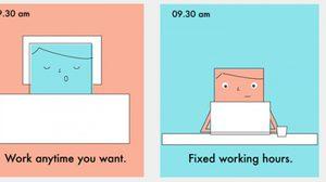 เปรียบเทียบงานประจำและฟรีแลนซ์ งานแบบไหนกันแน่นะที่เหมาะสำหรับคุณ