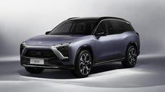 NIO ES8 รถยนต์ไฟฟ้าสัญชาติจีน คู่แข่ง Tesla Model X