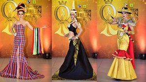 สวยตระการตา! ชุดท่องเที่ยวประจำชาติ จาก 25 สาวงาม Miss Tourism Queen Thailand 2017