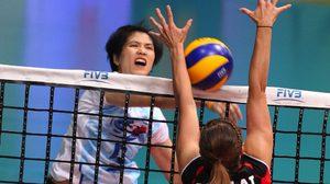 สบายมือ!ตบลูกยางสาวไทยชนะเจ้าภาพสวิส 3 เซตรวดทะลุรอบรองฯ