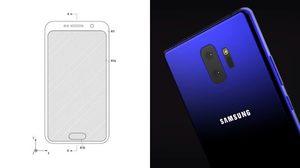 สิทธิบัตรล่าสุดคอนเฟิร์ม Samsung Galaxy Note 9 จ่อมาพร้อมสแกนนิ้วมือบนหน้าจอ