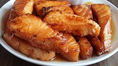 สูตร แซลมอนทอดราดน้ำปลา จากวัตถุดิบญี่ปุ่นกลายเป็นเมนูไทย