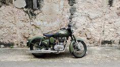 Royal Enfield Classic500 Battle Green มอเตอร์ไซค์ 500ซีซี ที่นักบิดสายวินเทจ ไม่ควรพลาด!!