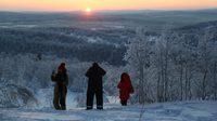 แสงตะวันแรก!! ในรอบ 40 วัน ของเมืองมูร์มันสค์ ทางตอนเหนือในรัสเซีย