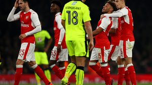 xxxx during the EFL Cup fourth round match between Arsenal and Reading at Emirates Stadium on October 25, 2016 in London, England.