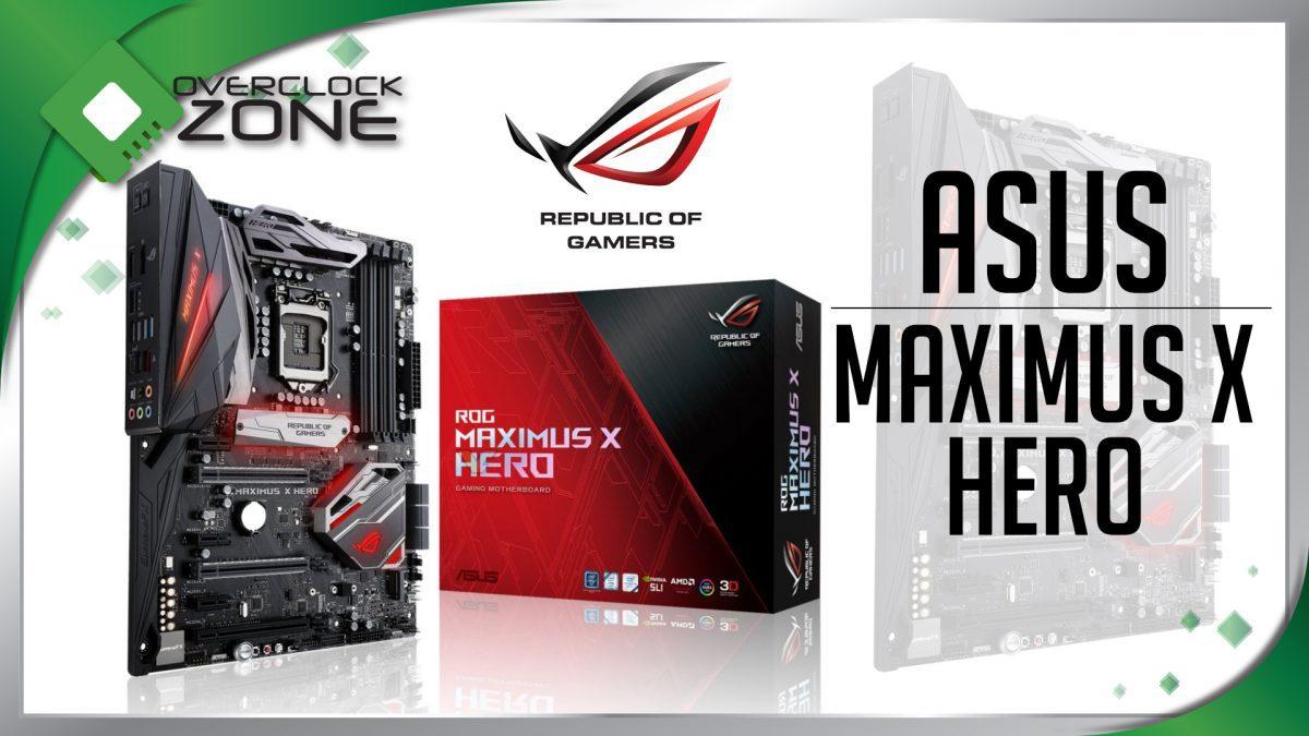 รีวิว ASUS ROG MAXIMUS X HERO : Z370 Motherboard