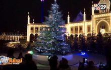 เปิดตัวต้นคริสต์มาสยักษ์ประดับคริสตัล