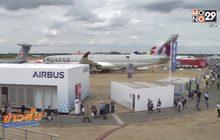 Airbus และ Boeing กวาดรายได้จากงานแอร์โชว์ในอังกฤษ