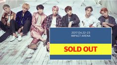 ฮอตจริง! บัตรคอนเสิร์ต BTS ในไทยกว่า 20,000 ที่นั่ง หมดเกลี้ยงแล้ว!