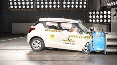 Suzuki Swift  2017 เก็บไป 3 ดาว จากการทดสอบการชนจาก Euro NCAP