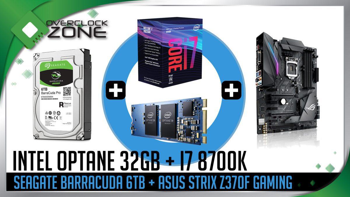 ลองเล่น Intel Optane Memory 32GB คู่กับ Core i7-8700K และบอร์ด Z370