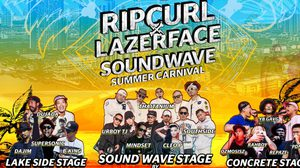 RipCurl x Lazerface Soundwave Summer Carnival