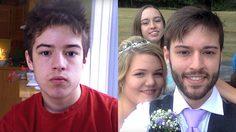 หนุ่มคนนี้ ถ่ายภาพตัวเองตั้งแต่อายุ 12 จนถึงวันแต่งงาน รวมรูปกว่า 2500 รูป