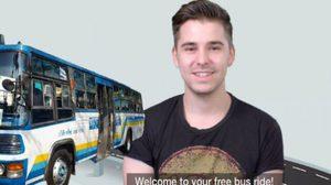 มีอึ้ง! เมื่อต่างชาติต้องขึ้นรถเมล์ในเมืองไทย