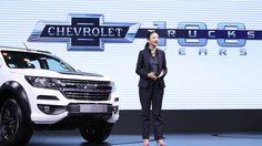 Chevrolet ฉลองครบรอบรถกระบะ 100 ปี ที่งานมอเตอร์ เอ็กซ์โป 2017