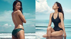 ทะเลต้องลุกเป็นไฟ!! Soyu (Sistar) เปลือยอกถ่ายแบบนิตยสาร ELLE Korea