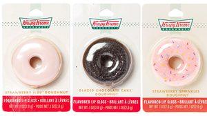 ไอเทมเด็ด! Krispy Kreme Lip Gloss เมื่อโดนัทไม่ได้มีไว้กัดอีกต่อไป