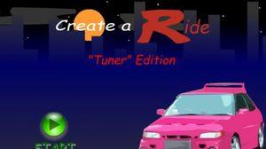 เกมส์แต่งรถสุดเท่ Create a Ride: Version 1 game