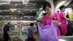ภาพเอ็กซ์คลูซีฟของ ซุปเปอร์มาร์เก็ต ในเกาหลีเหนือ