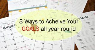 3 วิธีตั้งเป้าให้กับชีวิต..พร้อมวิธีที่จะทำให้สำเร็จตลอดทั้งปี