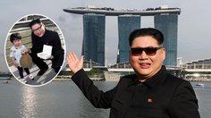 เค้ากลับมาแล้ว!! คิม จองอึน ตัวปลอมแวะมาป่วนที่ประเทศสิงคโปร์