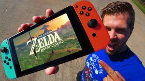 เสียวแทน !! Nintendo Switch Drop Test ที่ความสูง 1000 ฟุต