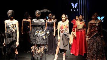 งานแฟชั่นโชว์ จาก 6 มหา'ลัยเครือข่ายแฟชั่น Fashion V together