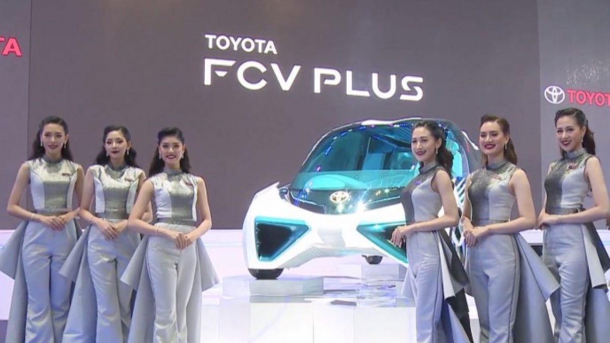 """โตโยต้า โชว์นวัตกรรมยานยนต์แห่งอนาคต ในงาน """"บางกอก อินเตอร์เนชั่นแนล มอเตอร์โชว์ ครั้งที่ 38"""""""