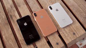 หลุดภาพ iPhone 8 เครื่องจำลอง 3 สี พร้อมสีใหม่!! สีทองแดง Copper