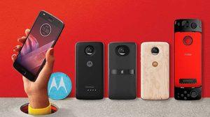 เปิดตัว Moto Z2 Play ในไทย เบากว่ารุ่นแรก พร้อมใช้งาน Moto Mods ในท้องตลาดได้ทันที