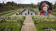 สวน White Garden ในพระราชวังเคนซิงตัน รำลึก 20 ปี เจ้าหญิงไดอาน่า สิ้นพระชนม์