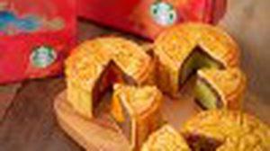สตาร์บัคส์ แนะนำ 4 เมนูขนมต้อนรับเทศกาลไหว้พระจันทร์
