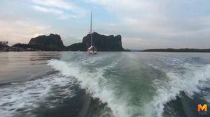 จ.ตรัง แจ้งหน่วยงานทางทะเล ช่วยค้นหาเหยื่อเรือล่มภูเก็ต