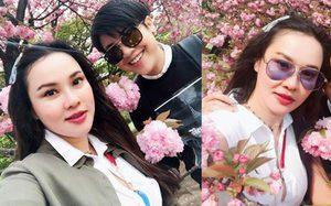 ใหม่ เจริญปุระ ควงสาวหล่อ เที่ยวญี่ปุ่น ชมดอกซากุระ IG มีแต่สีชมพู!!!