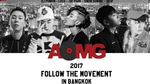 2017 FOLLOW THE MOVEMENT IN BANGKOK