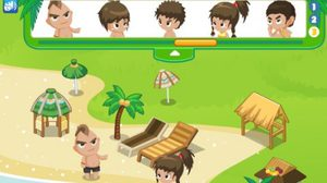 เกมส์ตกแต่งห้อง แต่งรีสอร์ท Tropical resort