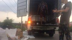 แบบนี้ก็ได้เหรอ! หนุ่มจีนจอดรถทิ้งขยะกองโต เกลื่อนข้างถนน