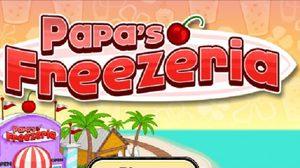 เกมส์ ทำขนม Papa's Freezeria