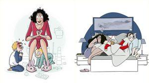 25 ภาพการ์ตูนตีแผ่ชีวิต มนุษย์แม่ ผู้แบกรับงานโหดที่สุดในโลก