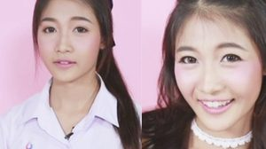 เปลี่ยนสาวหน้าจืด 3 สาวจาก 3 โรงเรียน เป็นลุคสาวหวานสไตล์เกาหลี