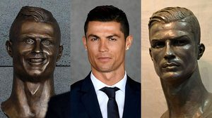 เผยโฉม รูปปั้นโรนัลโด้ เวอร์ชั่นใหม่ แปลงโฉมแล้ว หล่อเฟี้ยวเหมือนตัวจริง