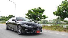 ทดสอบการขับขี่ MaseratiGhibli สปอร์ตซีดานสัญชาติอิตาเลี่ยน ที่น่าเกรงขามทั้งรูปโฉมเเละสมรรถนะ